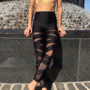 High times mesh shine dot tights 8